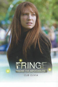 2013 Fringe Seasons 3 & 4 Card Set (72 cards) & Free Case