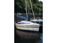 CHallenger MIcro 18ft sailing boat +trailer/outboard