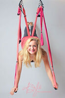 Hang Out While You Get Fit In Suspension Yoga!