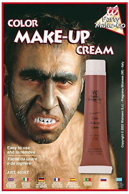 New Halloween Werewolf Make up cream Tube, BROWN, Makeup