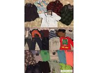 Big bundle of 4-5 years boys clothes