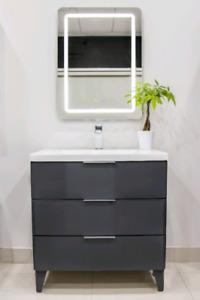 Vanity - Faucet - LED Mirror