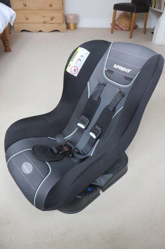 Good as new car seat from birth onwards Argos baby start sprint belt
