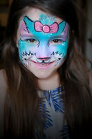 Professional Face Painting- 50% income to Animal Organizations