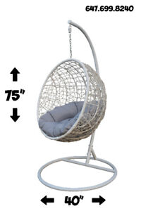 Hanging Patio Swing Chair Outdoor or Indoor  All Ages