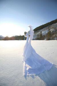 Beautiful A-line Wedding Dress