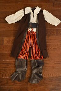 Pirate Halloween Costume - Size 3