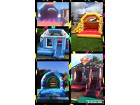 PARTY PIECES BELFAST,, superhero bouncy castle Peppa pig castle frozen castle And more available .