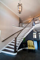 Staircase manufacturing, renovation, and install