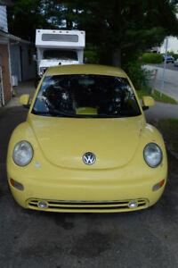 volkswagon beetle à vendre
