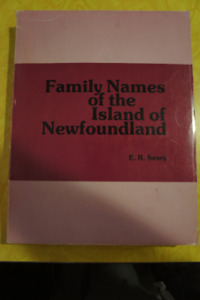 Family Names of the Island of Newfoundland 1980