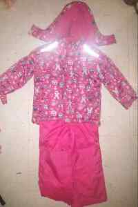 18-24 and 4t snowsuits