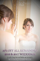 50% Wedding Photography!  Limited Time and Availability!