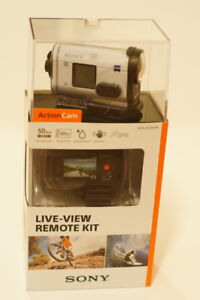 (Brand New) Sony action camera HDR-AS200VR  w/ Case & Protector