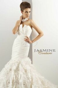 Jasmine Couture T440 Wedding Dress Stratford Kitchener Area image 1