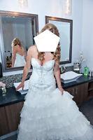 Robe mariée Bijoux Swarovski