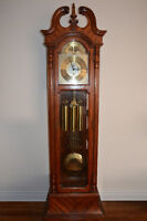 Beautiful Craftline Grandfather Clock with Moon Dial