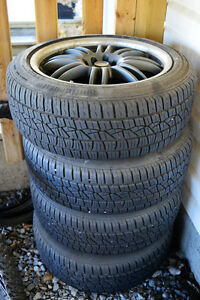205/50 R17 Summer Tires and Aftermarket Rims