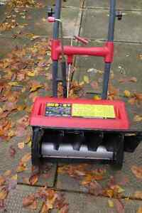Spectra electric snow blower