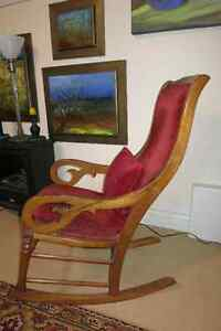 Lovely antique rocking chair in  perfect shape