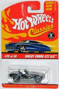 Hot Wheels Classics 1/64 Shelby Cobra 427 S/C Diecast Car