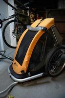 MEC single seat bike trailer