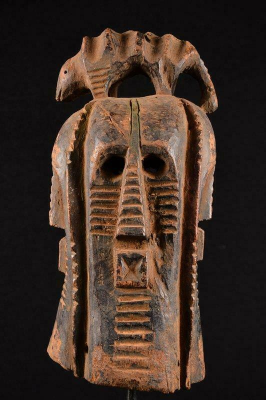 14295 African Old Songye Helmet Mask Four Face/Helmet Mask Dr Congo