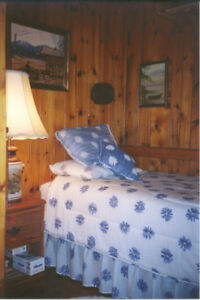 Single Bed with Linens