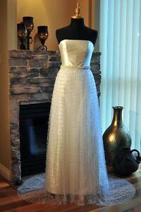 Wedding Dress New Silk Fantastic Quality & Fit