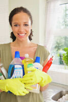 House Cleaning Lady & Move in-move out cleans Flat Rates!