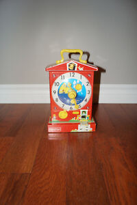 Fisher Price Classic Teaching Clock - Excellent Condition