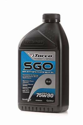 Torco 75W140 SGO Synthetic Racing Gear Oil 1Litre