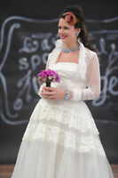 Gorgeous Authentic Vintage Wedding Gowns for Sale 1940s to 1960s
