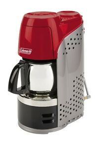 Coleman 10-Cup Portable Propane Coffeemaker with Burner, 5000 BT