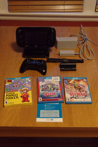 Wii U with Super Mario Maker and more