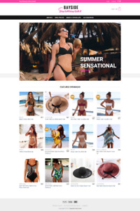 Online Women's Swimwear E-Commerce Business