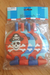Pirate Themed Blowouts