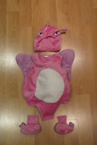Costume d'Halloween de papillon 12m