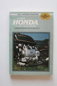 HONDA GL-1000 Fours 1975-1978 Repair Manual Clymer