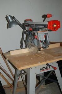 Ridgid Radial Arm Saw excellent condition