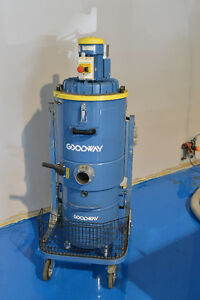 GOODWAY DV-Z75 Heavy Duty Continuous Vacuum Cambridge Kitchener Area image 1