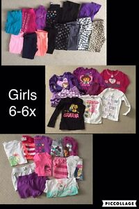 Girls clothes 6-6x