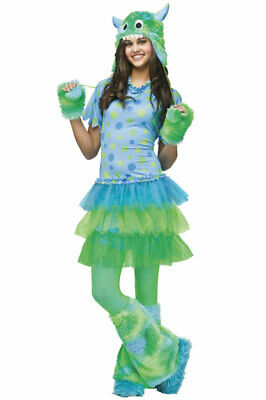 Girls Monster Halloween Costume (Monster Miss Teen Halloween)