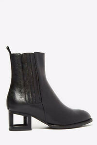 JEFFREY CAMPBELL LEATHER BOOTS