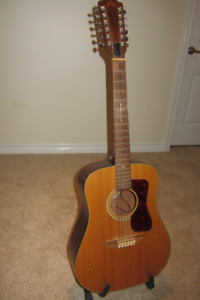 GUILD D4-12 NT (1992) 12 String Acoustic Western Guitar