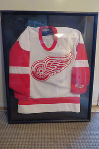 Detroit Red Wings Jersey/Shadow Box