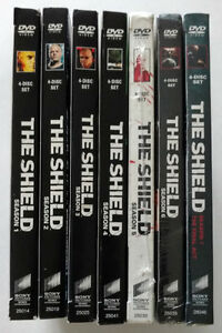 DVD - Complete Series - The Shield - 7 Seasons - 5,6,7 Brand New