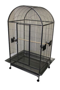 "40"" X-Large Dome Top Parrot Cage for Macaw Cockatoo Grey Amazon"