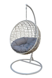 Patio Indoor/ Outdoor Hanging Chair (2 sizes + colour options)