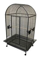 Dome Top Parrot Cage for Macaw Amazon African Grey